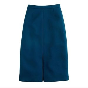 NWT J. Crew A-Line skirt in bonded twill
